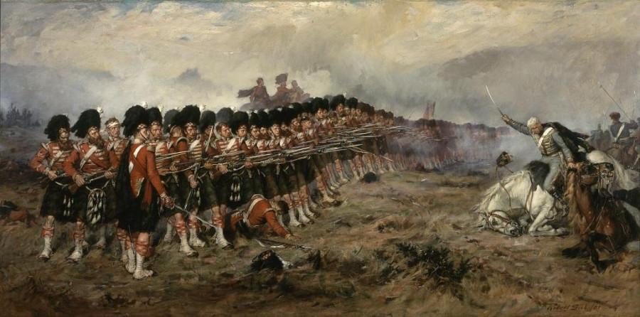 1854-Балакл-сражение-красная линия