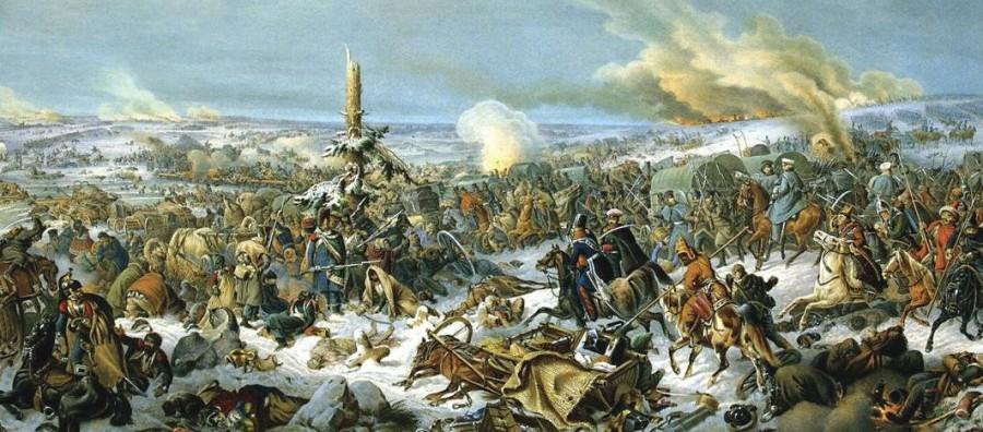 Переправа через Березину-1812-к