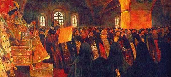 1598-Борис Годунов-Земск-собор