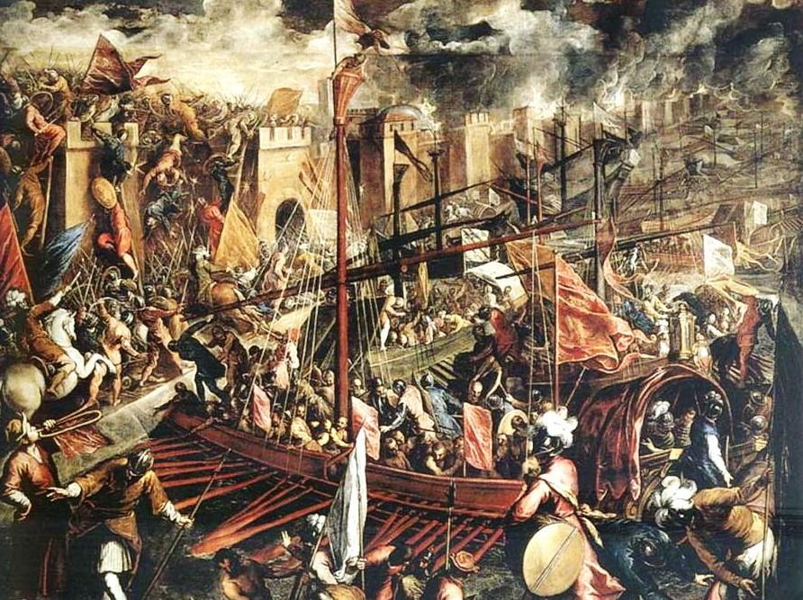 1204-Падение Константинополя-к
