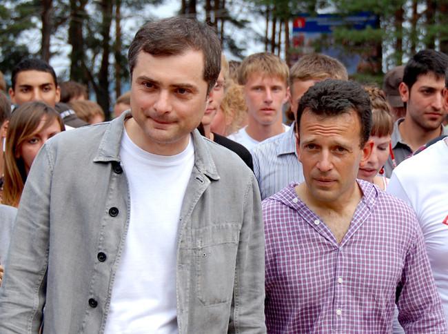 Сурков и нашисты