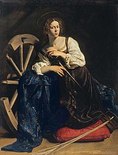 Святая Екатерина Караваджо