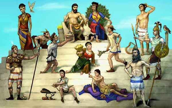 олипийские боги