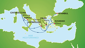 Карта круиза
