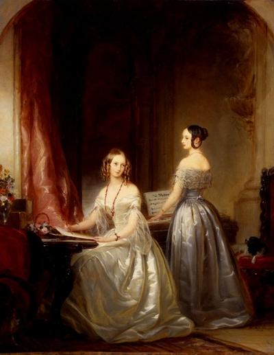 Ольга и Александра Николаевны