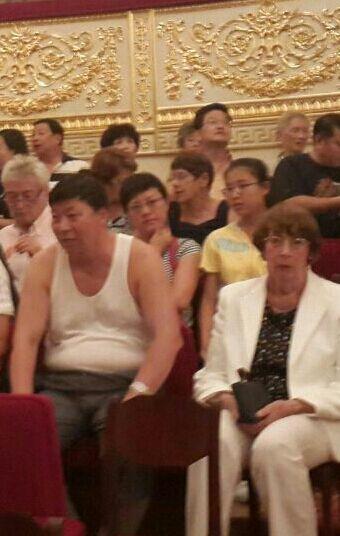 11-17 августа. Китаец в театре. Виктория Баргачева