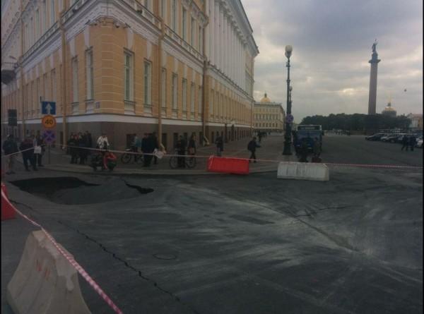 Провал на Дворцовой площади