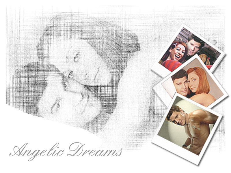 Angelic Dreams Willow and Angelus BW