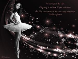 Ballerina Dru Stars dark