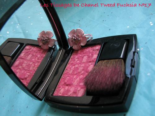 Chanel Tweed Fuchsia 17 Les Tissages De Chanel