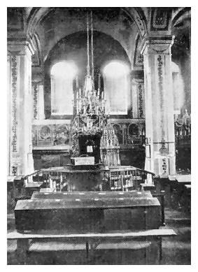 інтерєр синагоги