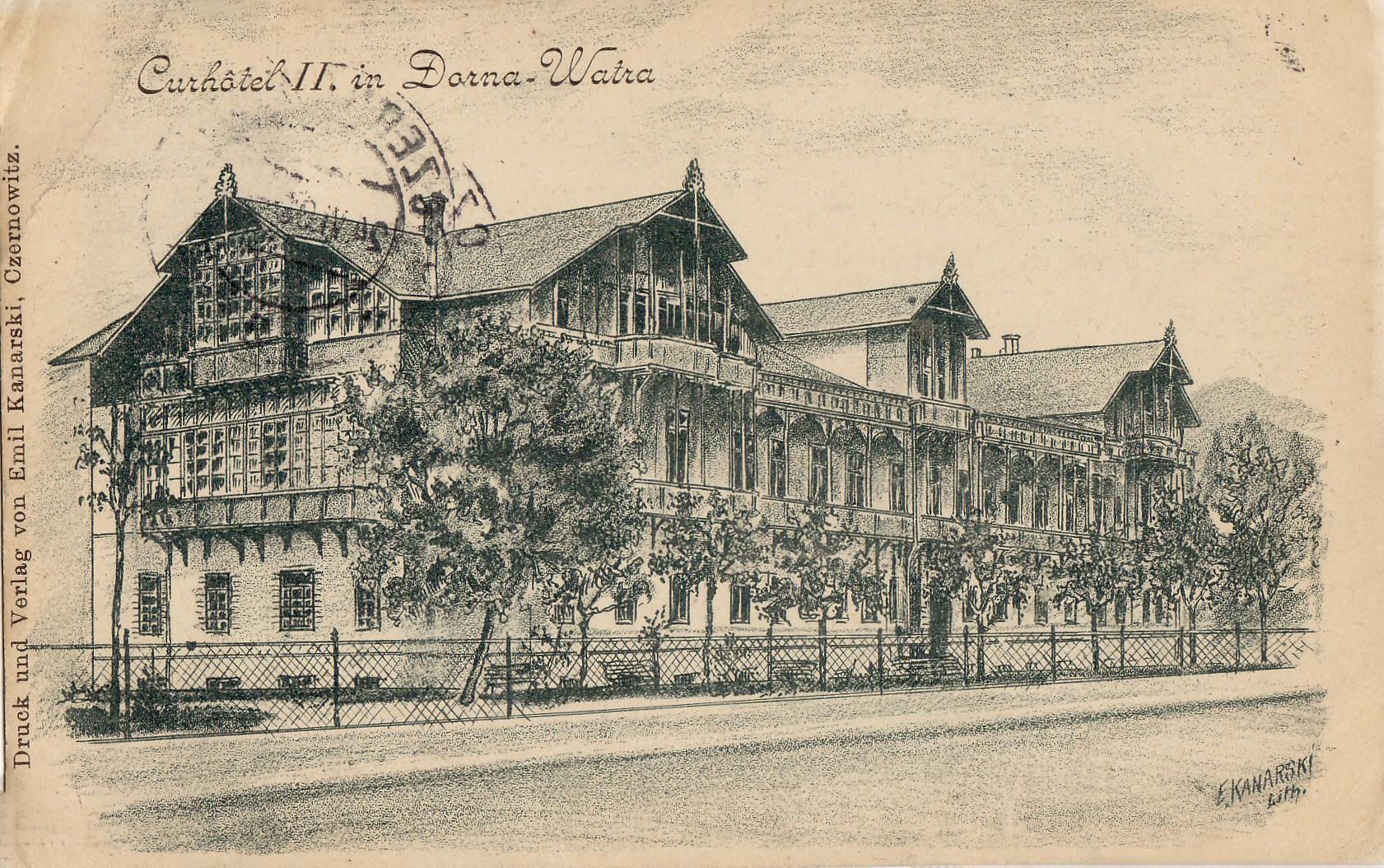 Ватра-Дорней (Буковина 1903р)