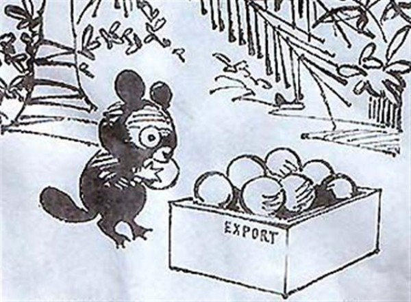 Чебурашка жрёт экспорт