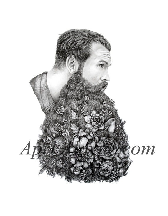 Борода хипстера