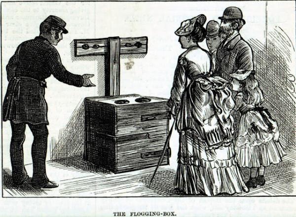 Flogging-box