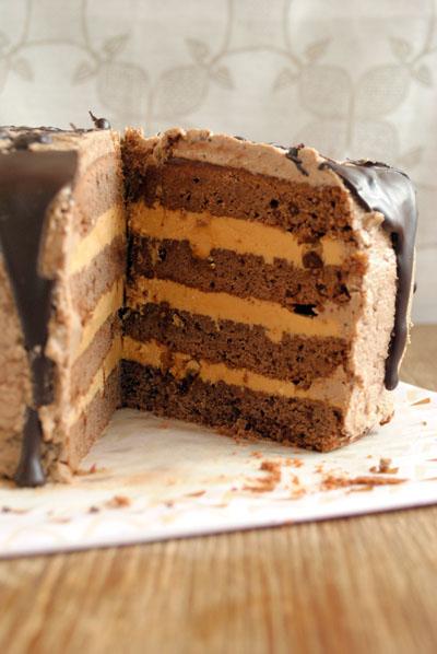 Фото рецепт торт карамельный