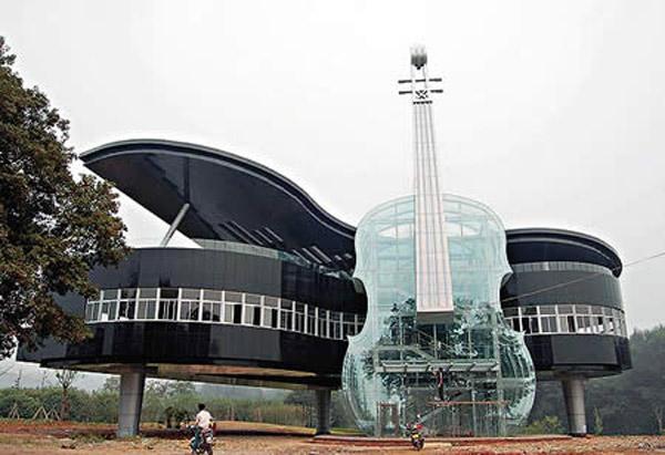 Piano-shaped-building-Huainan-China