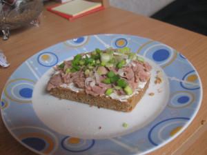Whole grain  leek tuna