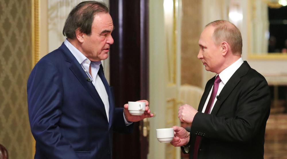 Приятные новости Путин услышал от Стоуна