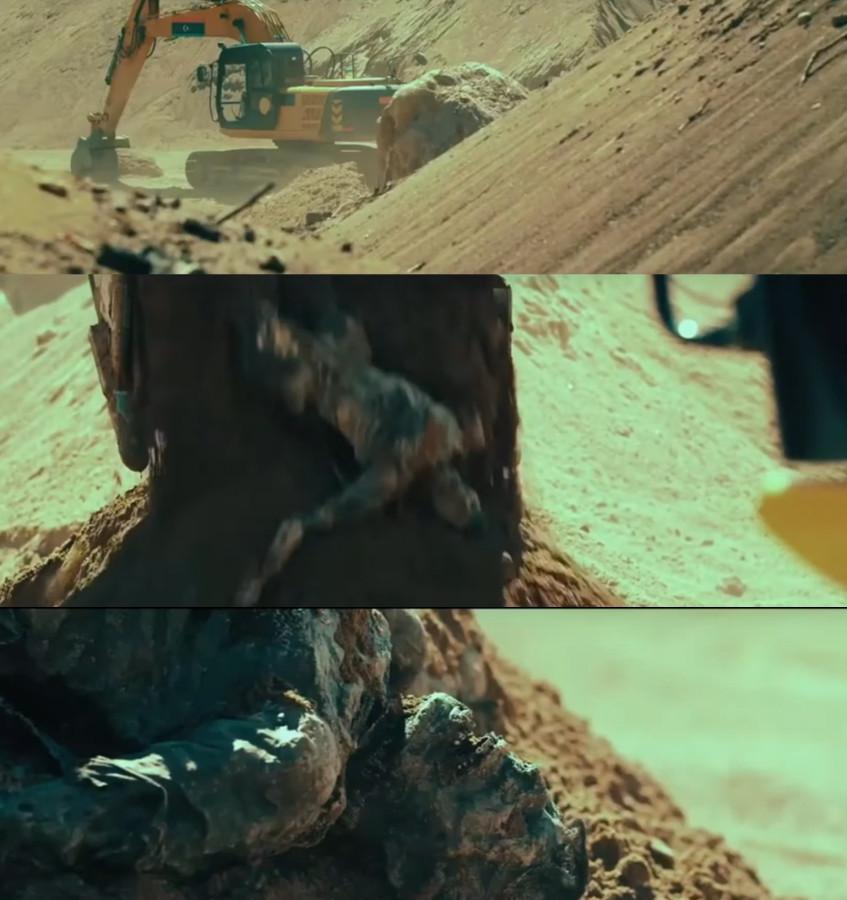 Кадры из второго фильма