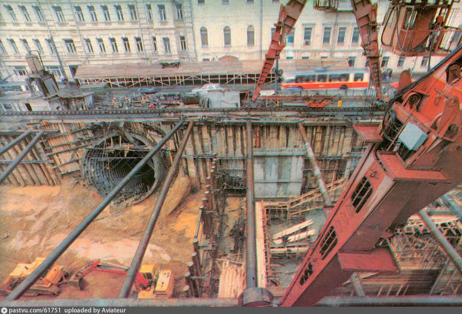 Чеховская строительство 1987.jpg