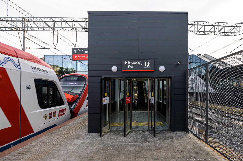 Станция МЦД Сетунь  после реконструкции сетунь,транспорт,мцд,москва,d1,мцд1,наземное метро