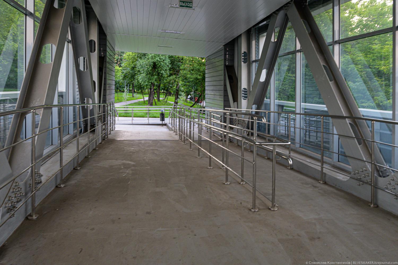 """Станция МЦК """"Ростокино"""". Пешеходный мост мцк,метро,наземное метро,ростокино"""
