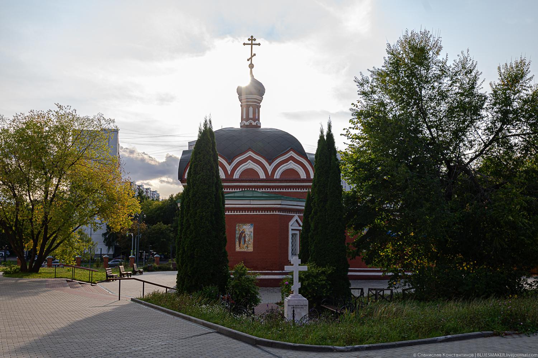 Бибирево. Храм новодельный и исторический бибирево,москва,церковь