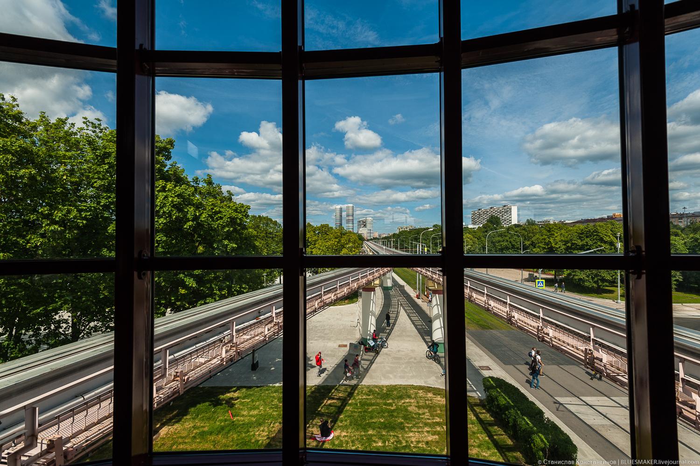 Станция монорельса Выставочный центр