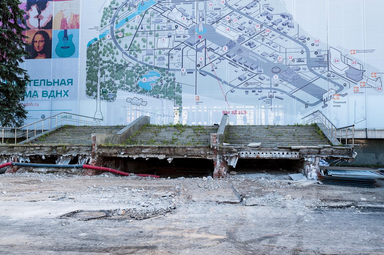 ВДНХ. Масштабная реконструкция. Часть 3 #вднх