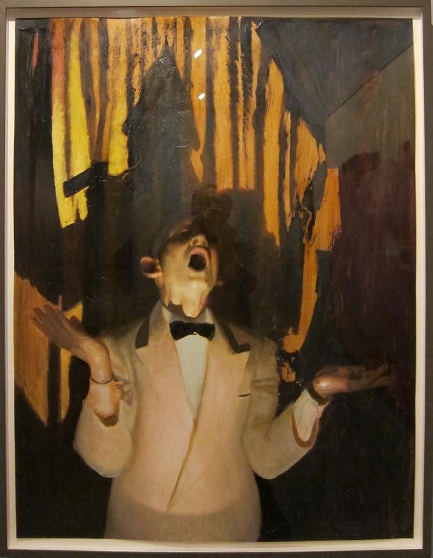 Винсент Десидерио. Поющий мужчина.