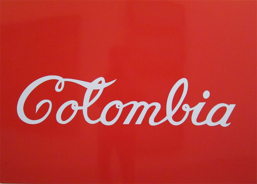 Антонио Каро. Колумбия Кока-Кола.