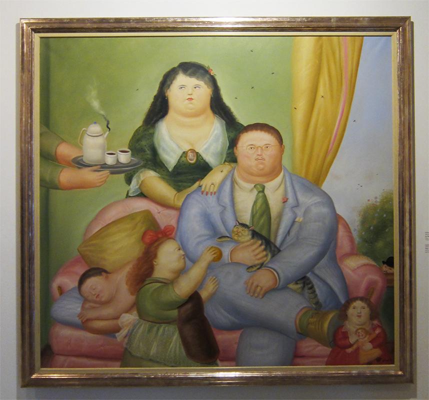 Колумбийская семья