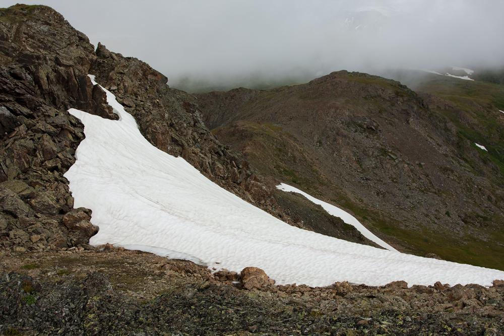 Август на перевале Карагем
