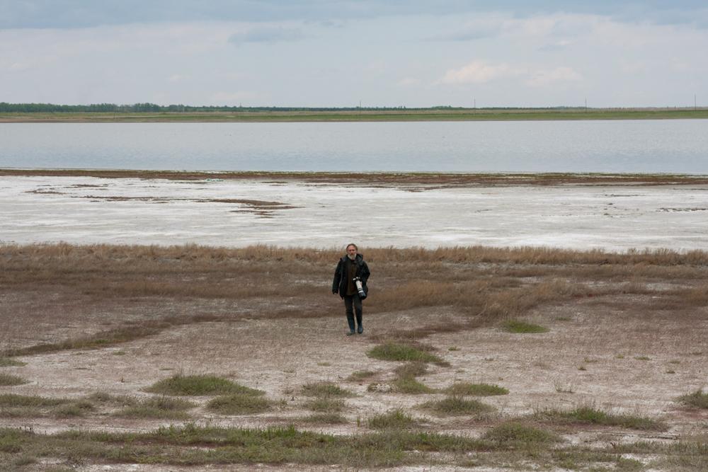 На степном озере