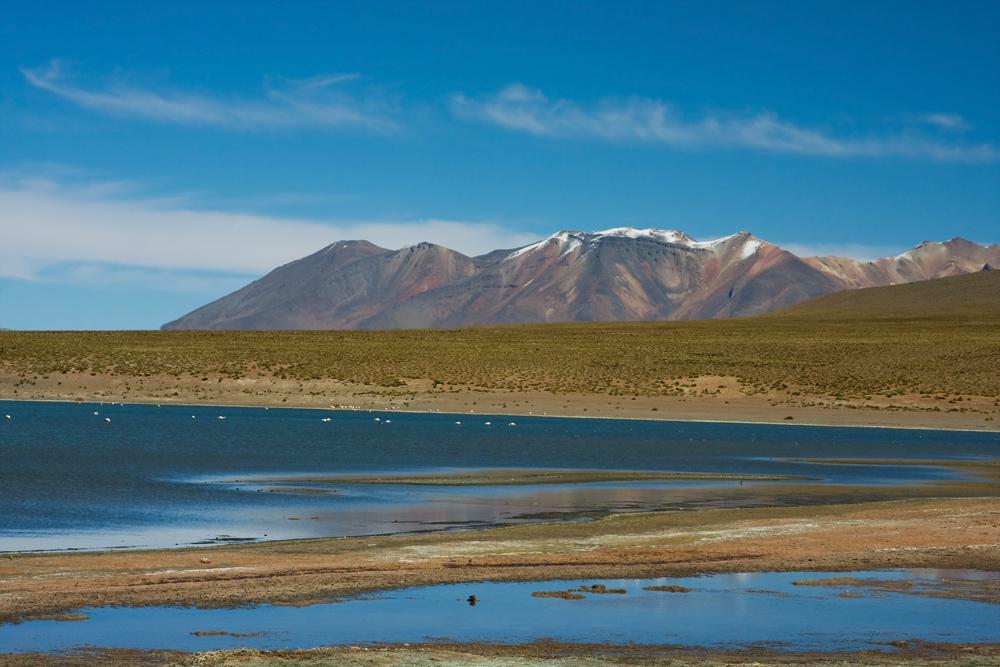 Озеро в Андах