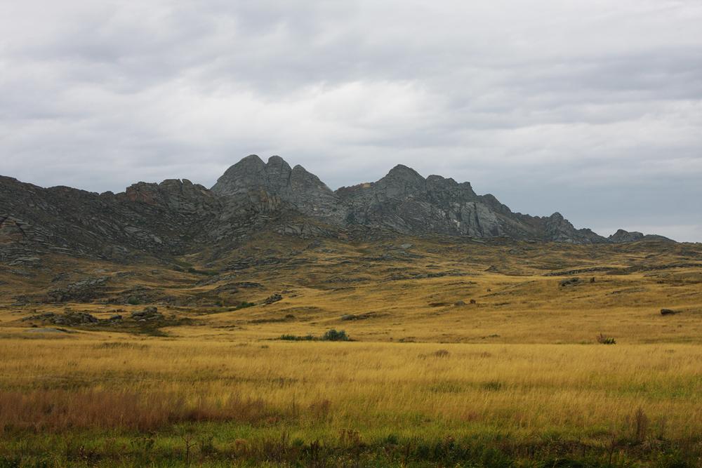 Монастырские горы