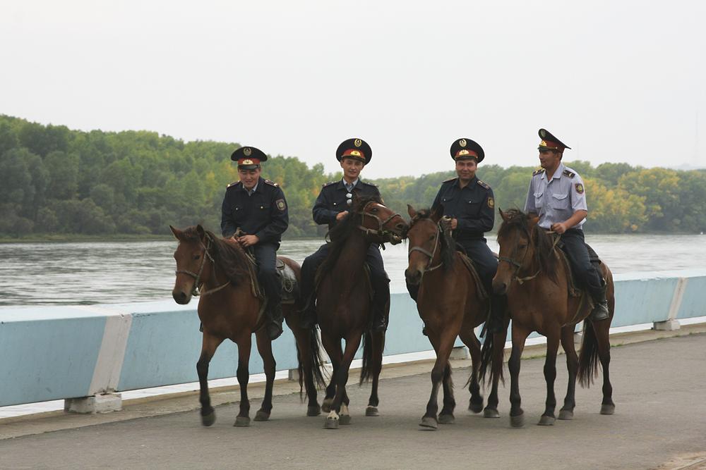Казахская конная милиция