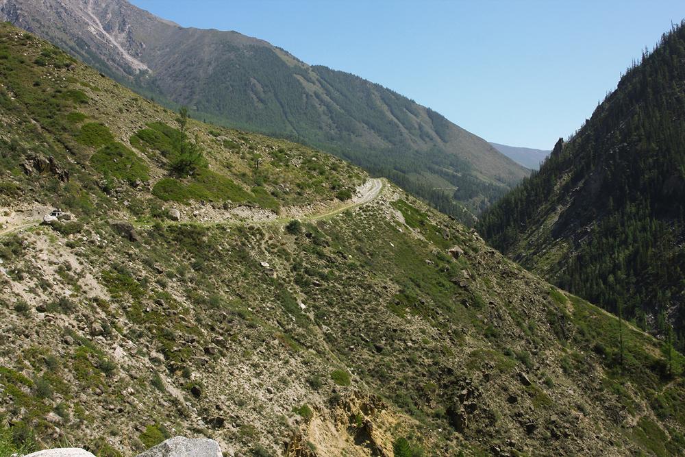 Горы над Аргутом