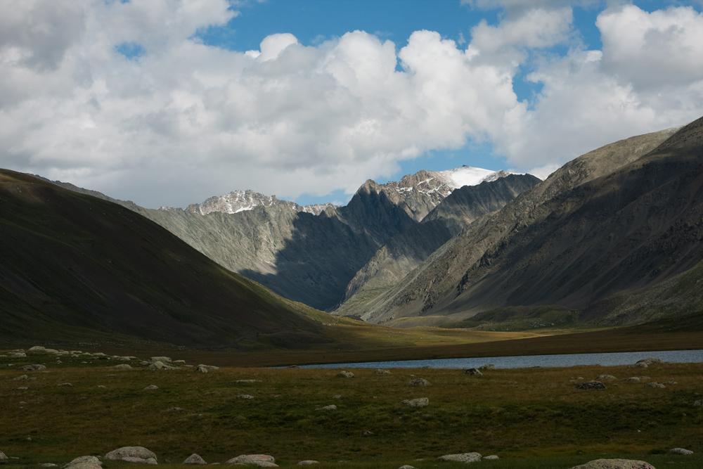 На озере Киндыктыкуль