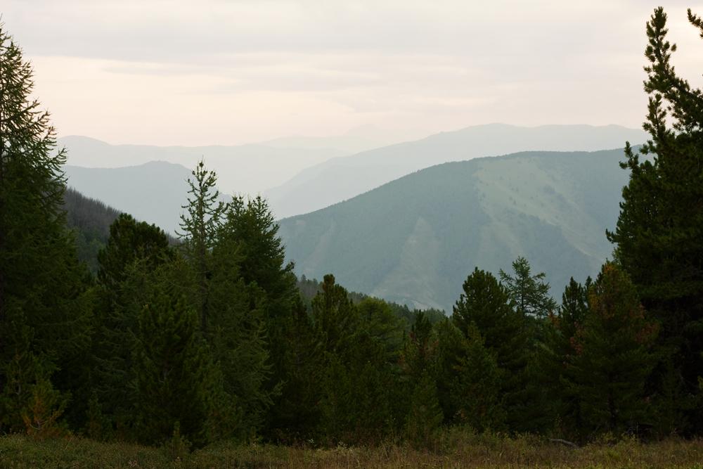 На перевале Ачик