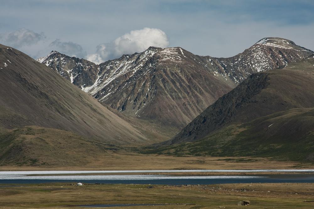 У озера Киндыктыкуль