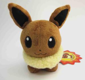 Pokemon-Eevee-Pokedoll-Plush-Front