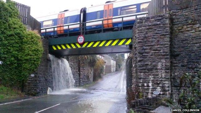 railway bridge templecombe