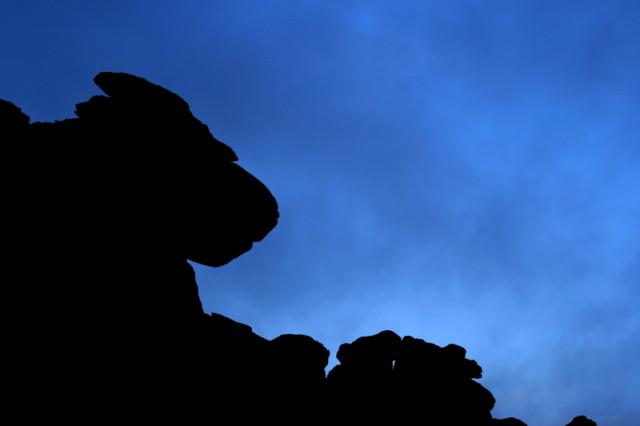 More Hound Tor rocks