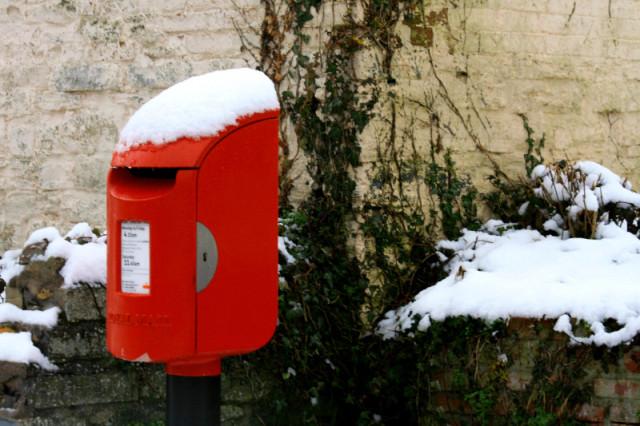 The village post box