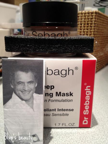 dr sebagh deep exfoliating mask sensitive skin formulation blvn 39 s beauty. Black Bedroom Furniture Sets. Home Design Ideas