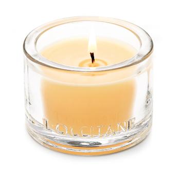 occitane candle