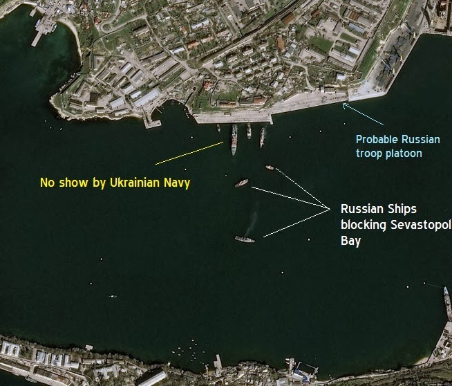 2014.03.03 Satellite photos of Sevastapol bay from CNES 2014