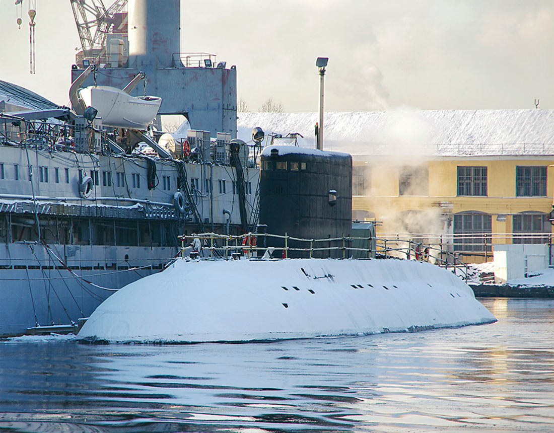 где производили и производят подводные лодки в россии